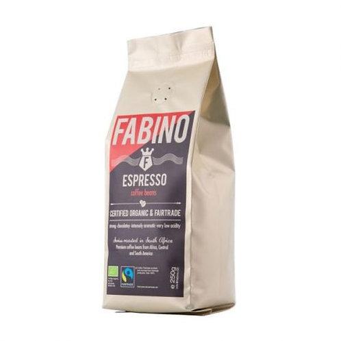 Organic Espresso Coffee Beans - Fabino