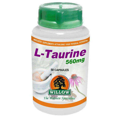 L-Taurine Capsules - Willow