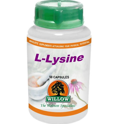 L-Lysine Capsules - Willow