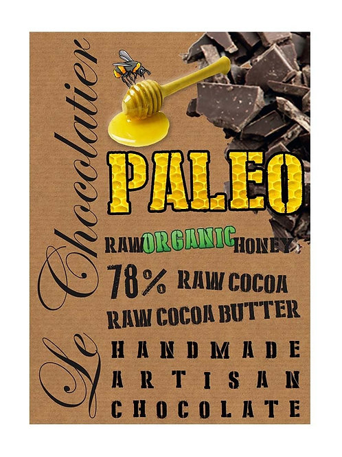 Paleo Chocolate made with Honey 100g- Le Chocolatier