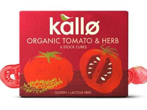 Organic Tomato & Herb Stock Cubes - Kallo
