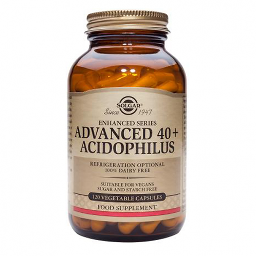 Advanced 40+ Acidophilus 60 Capsules - Solgar