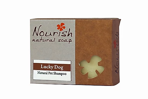 Lucky Dog Shampoo Bar - Nourish Natural Soap