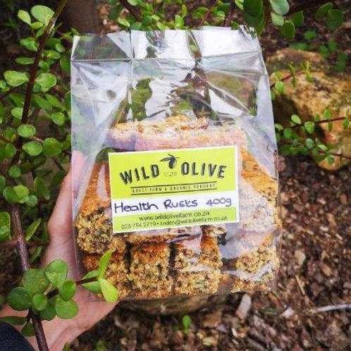 Health Rusks - Wild Olive