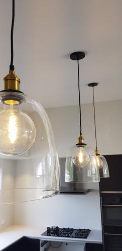 Feature pendant lighting