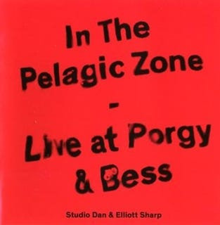 "Studio Dan & Elliott Sharp - ""In The Pleagic Zone"" Live at Porgy & Bess"