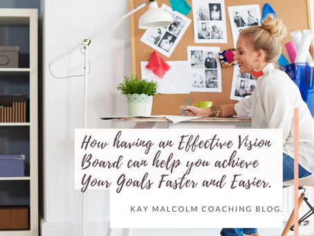 How having an Effective Vision Board can help you achieve Your Goals Faster and Easier!