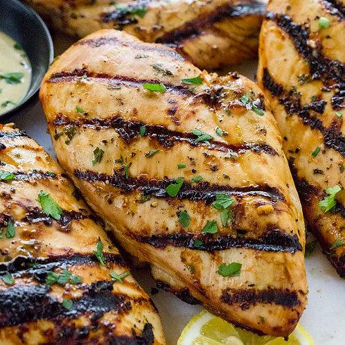 Chicken Breast in Garlic Butter Marinade