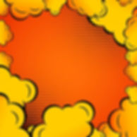 comic-clouds-orange-background_1017-1513