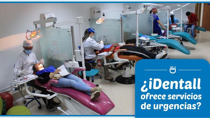 ¿Dentali ofrece servicio de urgencias Odontológicas?