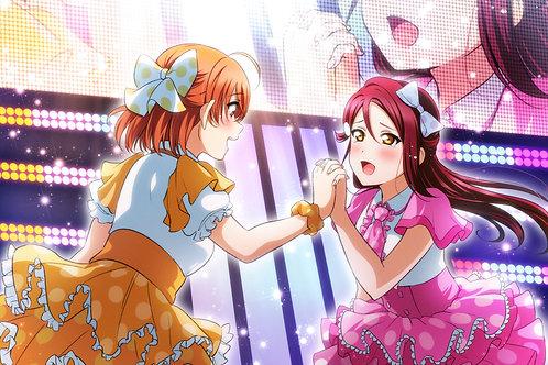 Sakurauchi Riko and Takami Chika Love Live!