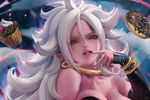 Android 21 Majin Form Dragon Ball Fighterz