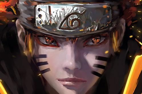 Naruto Uzumaki Bijuu Sage Mode