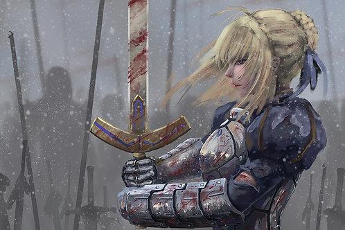 Saber Artoria Pendragon Fate/Grand Order 4K