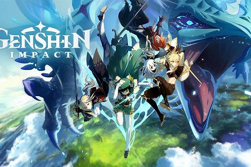 Genshin Impact Characters Dvalin Dragon