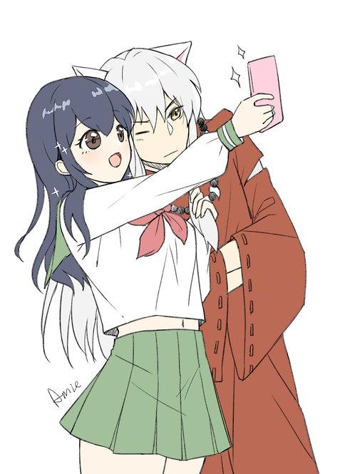 Inuyasha and Higurashi Kgome Inuyasha