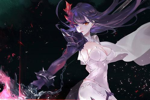 Anime Girl Epic Seven Fallen Cecilia