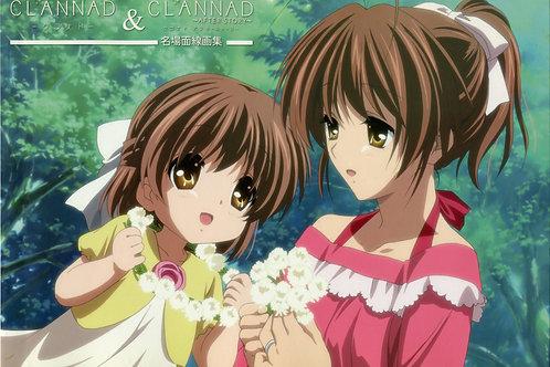 Furukawa Nagisa and Okazaki Ushio Clannad