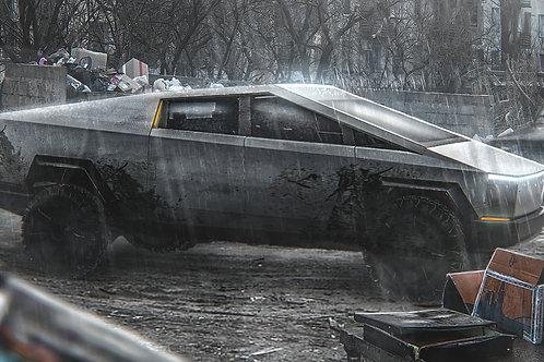 Tesla Cybertruck Russian edition