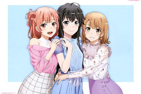 Yuigahama Yui Yuk Isshiki Iroha yahari ore no seishun lovecome wa machigatteiru