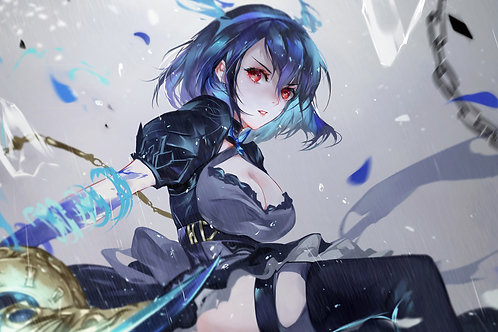 Beautiful Anime Girl Sword SINoALICE Alice