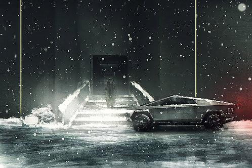 Tesla Cybertruck BladeRunning edition