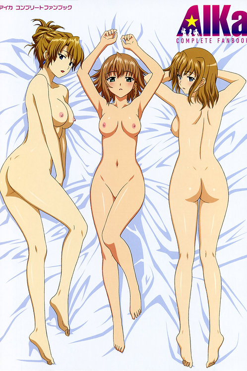 Aika Fanbook Bed Naked