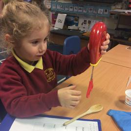 Investigating properties of materials