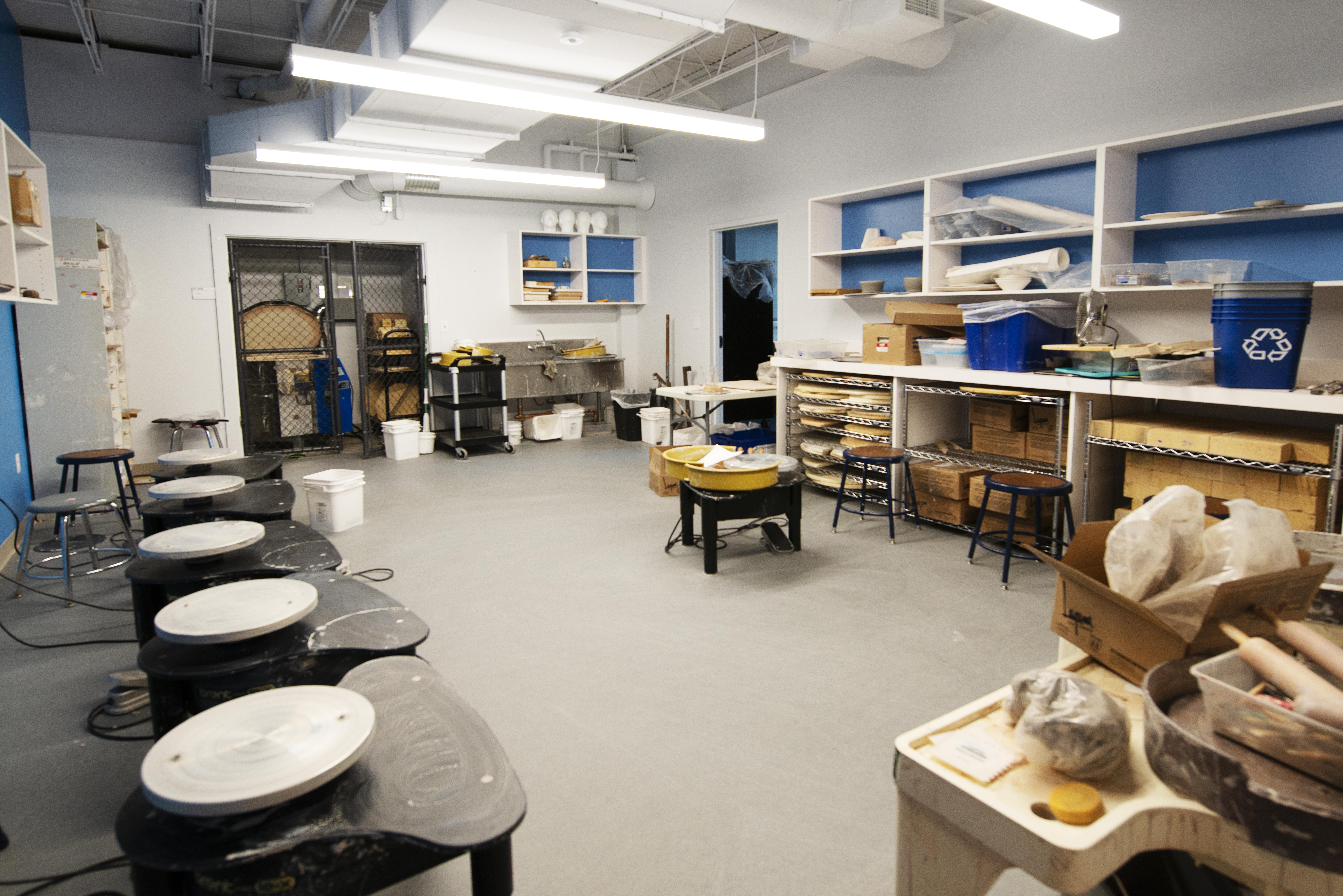 Ceramics Classroom