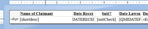 I just want a report in Excel (ProLaw & SSRS)