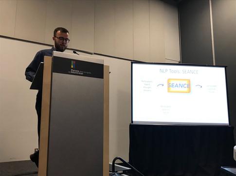 Jake Giving a Presentation