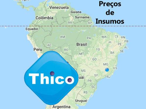 Preços do Brasil - SINAPI -> Thico