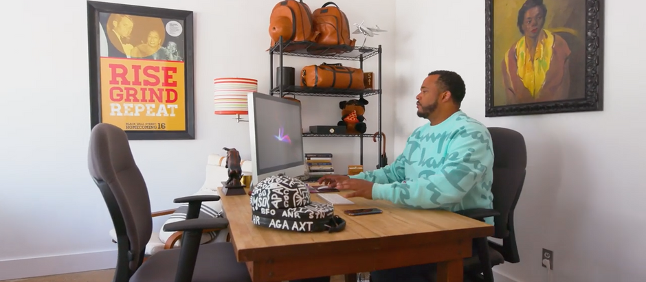 Jason Learning 'Design & Pitch w/Talib Graves-Manns | Life on Autopilot | Knox St. Studios