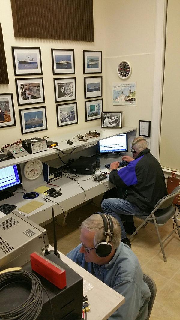 WA1WCC radio shack during 2017 MRD