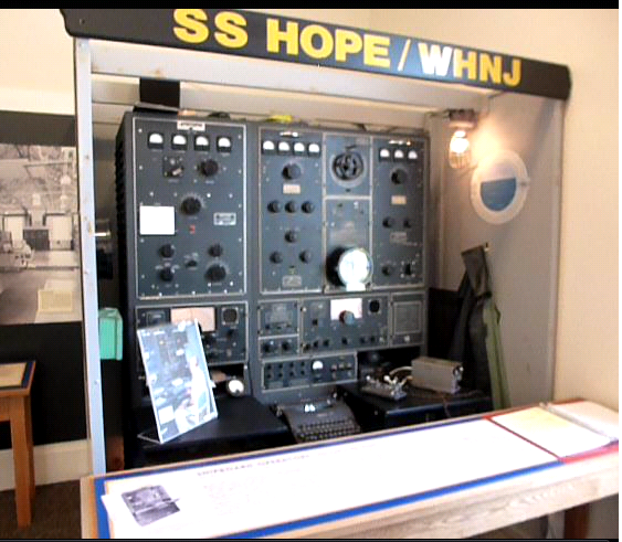 SS Hope/WHNJ Radio Console Display