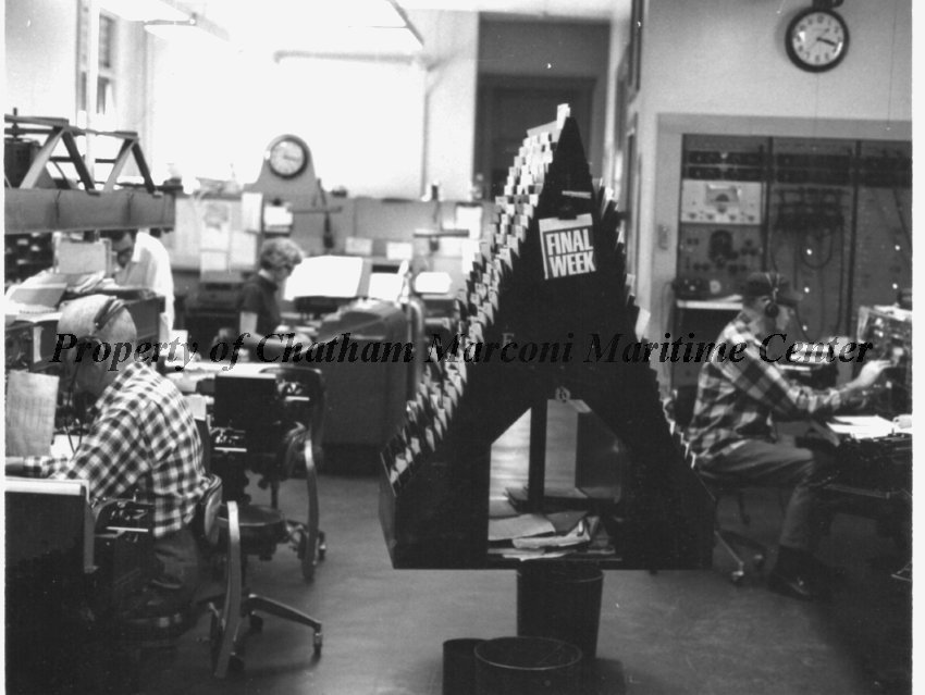 Radio Operators and Wire Department