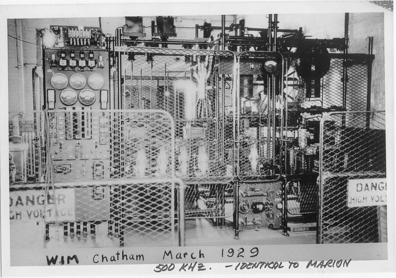 500kHz transmitter 1929