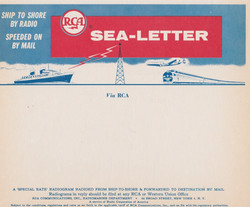 Sea Letter