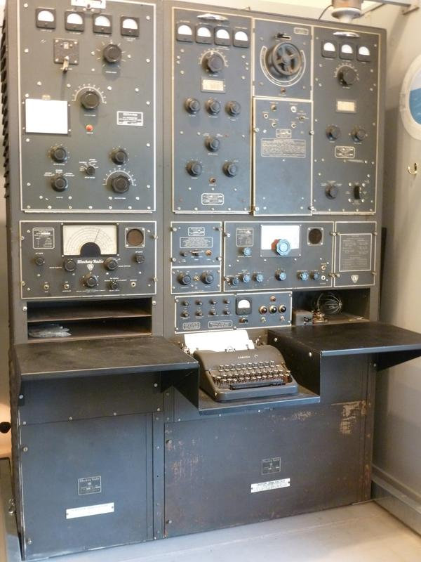 SS Hope/WHNJ Radio Console