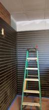 Tobacco store setup wall