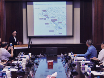 Food Wharf Proposal was presented at the World Heritage Forum, Shanghai Jiaotong University