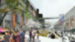 上海民生码头,露天市场
