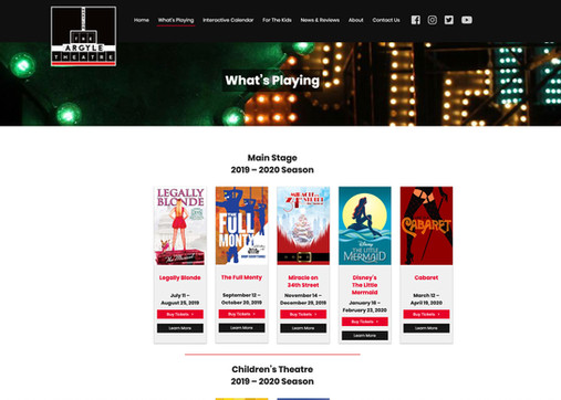 The Argyle Theatre