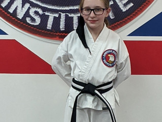 Black Belt Testing Results