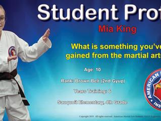 Student Profile - March 2019