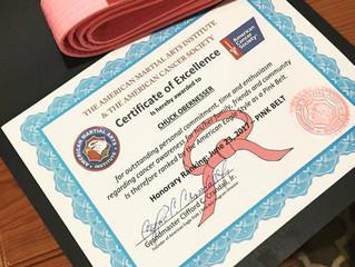 Honorary Pink Belt