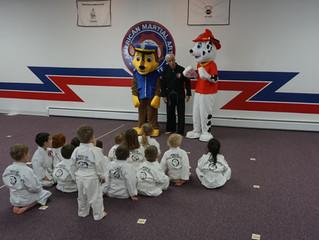 Paw Patrol Visits Superkick Program