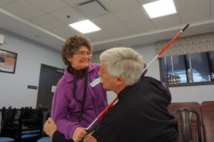 Personal Safety Seminar taught at the Central Association for the Blind and Visually Impaired