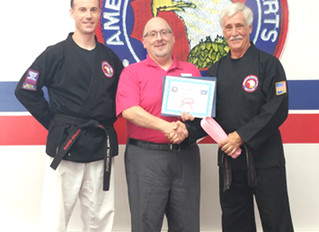 Honorary Pink Belt