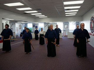 First Americanized Eagle Kendo Class